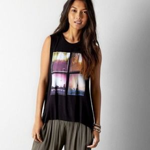 Tops - ❤ | HP | graphic NYC muscle tee |