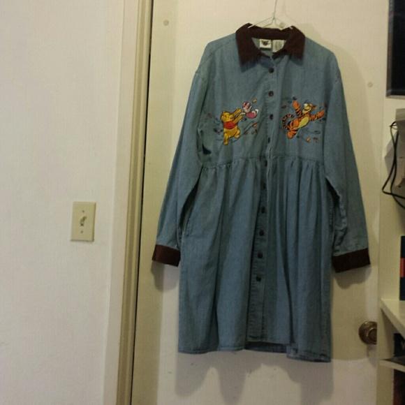 6ce56d12f96 Disney Catalog Dresses   Skirts - Winnie-the-Pooh and friends denim dress