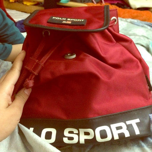 a67109cfda vintage polo sport mini backpack. M 54ce3bb3d14d7b07da01bac0. Other Bags  you may like. Red Ralph Lauren back pack