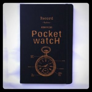 "New & Unused ""pocket watch"" journal"