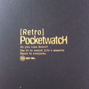 "Other - New & Unused ""pocket watch"" journal"