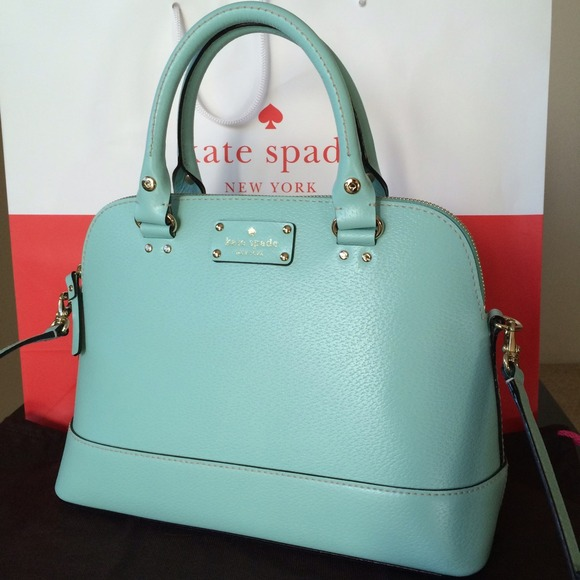 b1147dc8613d NWT Kate spade small Rachelle bag Tiffany blue