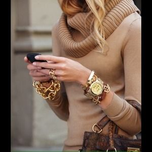 7e9db317ea30d 🔶MICHAEL KORS🔶 Gold Tone Link Bracelet
