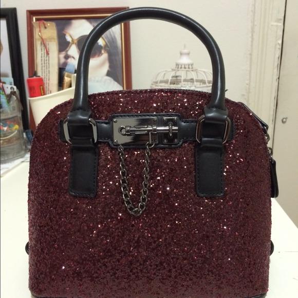 425e23e7551 ALDO Handbags - Aldo s PR Glitter Satchel and Dune wallet bundle
