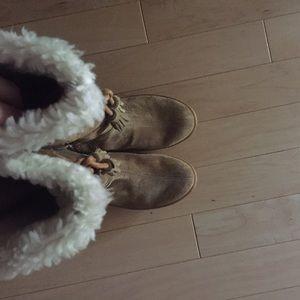 Banana Republic Shoes - Banana Republic Fringe Boots