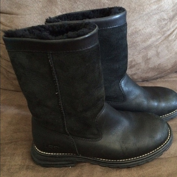 2648bf23fb Uggs Leather And Suede Boots