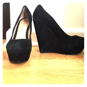 Aldo Suede Wedges