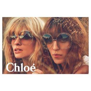 f0be96662d Chloe Accessories - Chloe Carlina Round Wire Metal Sunglasses Gold Lav
