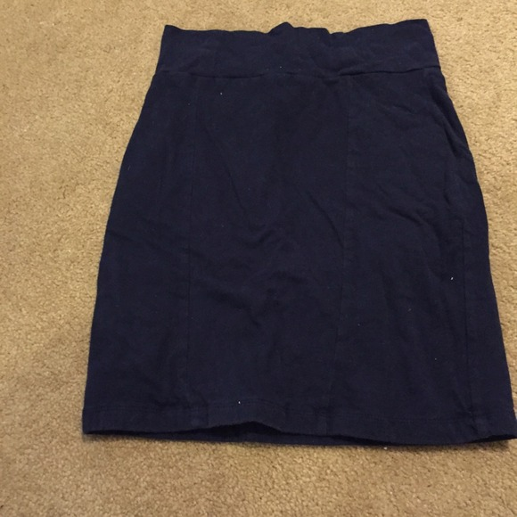50 forever 21 dresses skirts navy blue con