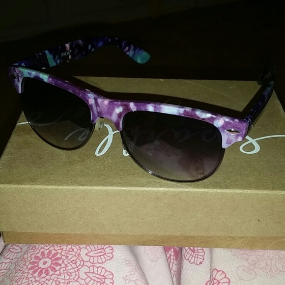 PacSun Accessories - Purple Galaxy Sunglasses