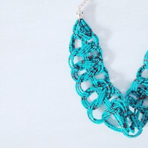 | new | turquoise twist necklace