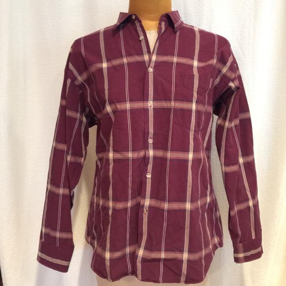 Dior christian dior plaid button down shirt from burma 39 s for Christian dior button up shirt