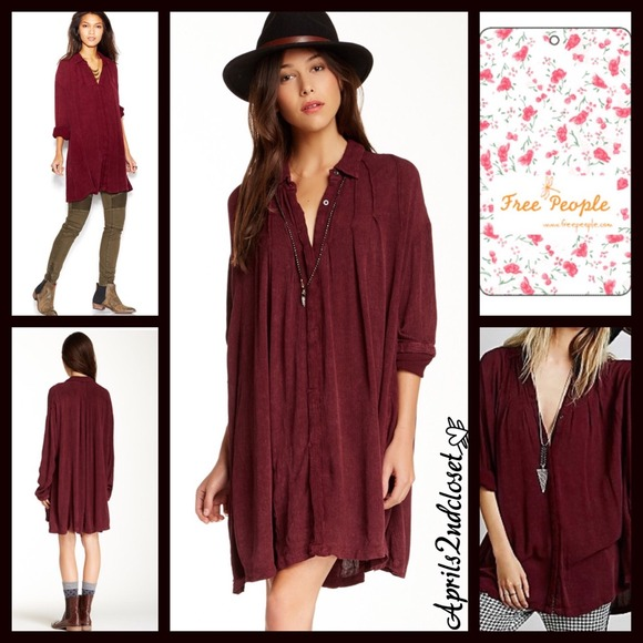 21bd1ca5 23% off Free People Tops - SOLD BUNDLE Free People $128 Tunic Shirt ...