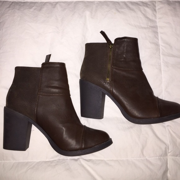 Lined Boots H&m H&m Divided Brown Boots