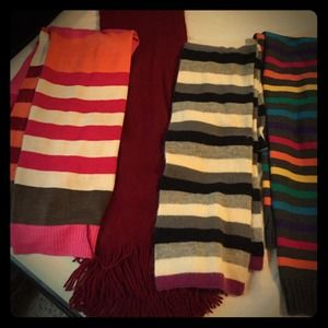 Scarves 4 for $20 or $7 each
