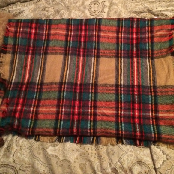 Target Accessories - Plaid blanket scarf