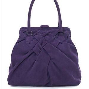 Brooks Brothers Suede Tote