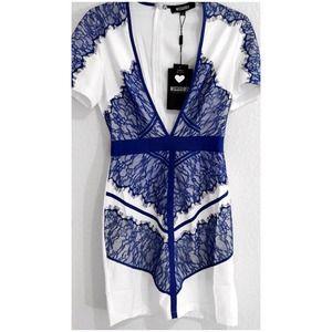 Sexy lace drop V Bodycon dress