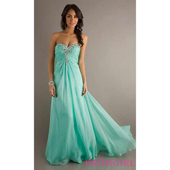 71% off studio 17 Dresses & Skirts - Mint Green Prom Dress from ...