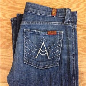 "7 For All Mankind ""A"" Pocket"