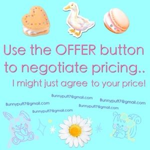 Many of my items are negotiable - so ASK ME :)