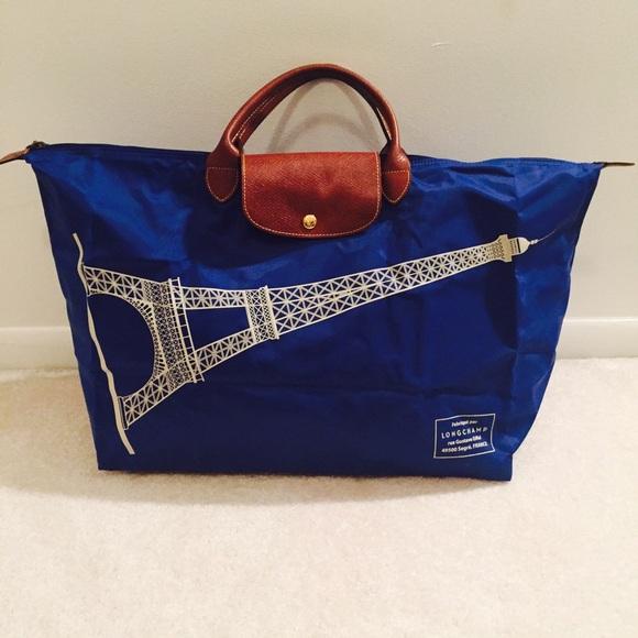 1f9757fa5278 Longchamp Handbags - Limited edition Longchamp Eiffel Tower bag