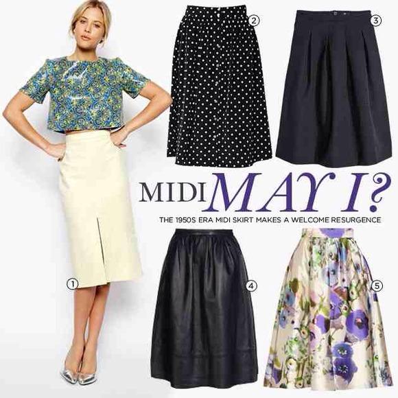 88% off Celine Dresses & Skirts - Celine Navy Wool Pleated Midi ...