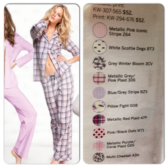 Victoria s Secret Mayfair 100% Cotton Pajamas M c389605d7