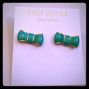Kate Spade New York Bow earrings