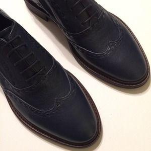 Zara Menswear Inspired Leather Shoes