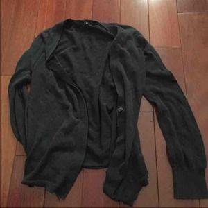 I heart Ronson black cardigan sweater XS