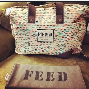 Feed and oh joy diaper bag limited edition