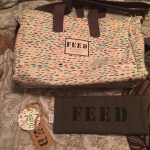 Feed and oh joy! Bags - Feed and oh joy diaper bag limited edition