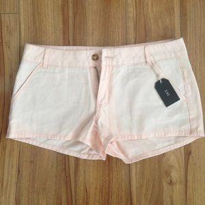 Forever 21 Pants - Forever 21 Peach Denim Shorts