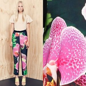 Cameo the Label Monster Mash Orchid Print Pants