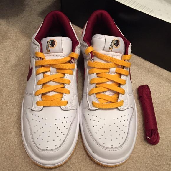 motor Lavandería a monedas Pensativo  Nike Shoes   Redskins Nike Id Sneakers   Poshmark