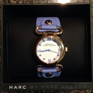 Blue/rose gold Marc Jacobs Watch