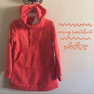 Jackets & Blazers - ⬇️Clearance ⬇️Orange Sweatshirt(No Lowballing)