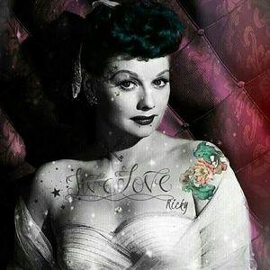 Custom tattooed Lucy photo