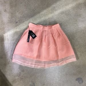 Style Mafia Dresses & Skirts - Pink Caged Skirt
