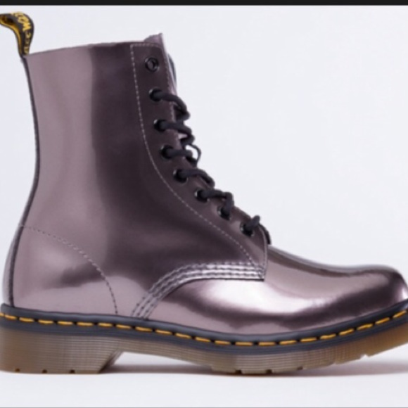 38 off dr martens boots pewter pascal doc martens from. Black Bedroom Furniture Sets. Home Design Ideas