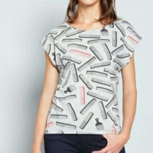 Combs Brooklyn industries graphic tee shirt