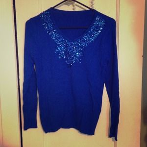 Tops - Brand new royal blue sweater