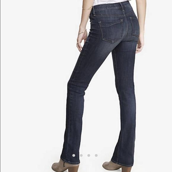 51% off Express Denim - 🚫sold🚫Express Mid rise skyscraper jeans ...