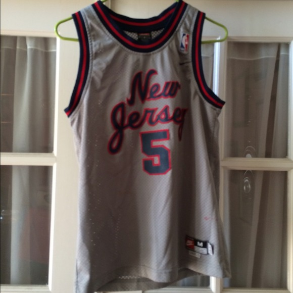 newest 7b53b f417e Nike Jason Kidd New Jersey Nets Throwback Jersey