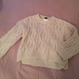 H&M oversized crop sweater