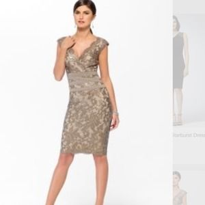 Cache cocktail lace sequin dress