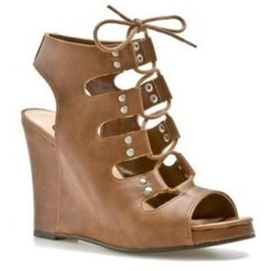 G by Guess Shoes - G by Guess Lace Up Wedge
