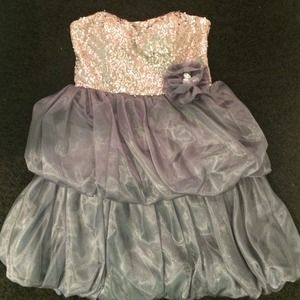 sequin hearts Dresses & Skirts - size 3 dress!