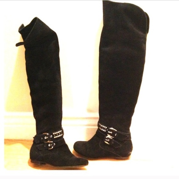 bcbg bcbg otk black boots from melanie s closet on poshmark